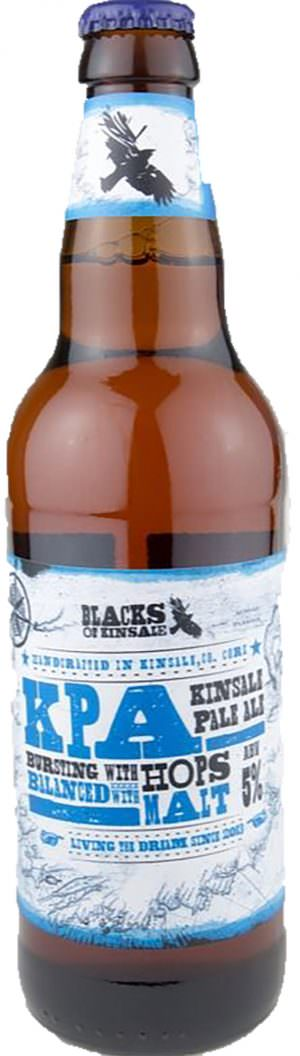 Black's of Kinsale KPA Pale Ale 50cl Bottle