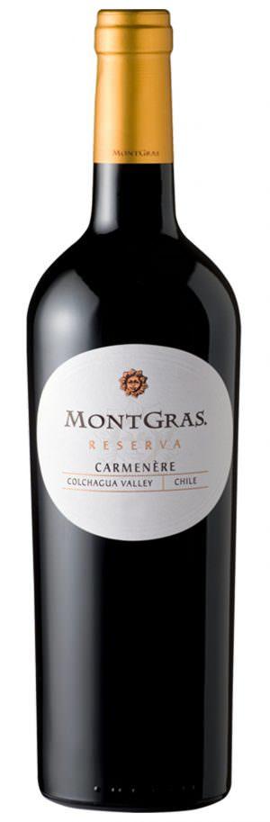 Montgras Reserve Carmanere 75cl