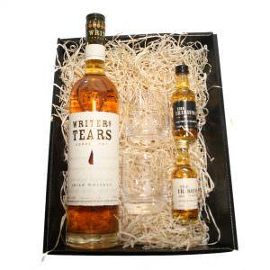 Writers Tears 70cl + 2 x 5cl Whiskey Hamper