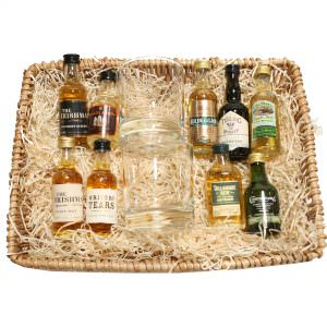 Irish Whiskey Minis Hamper