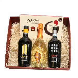 Italian Wine & Prosecco Hamper With Chocolate
