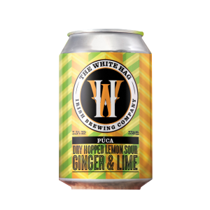 White Hag, Puca Ginger & Lime 3.5% 33cl Can