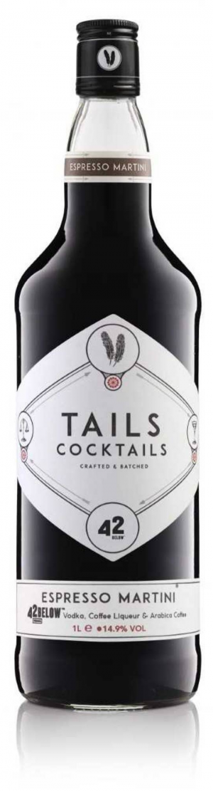 Tails Espresso Martini 1Ltr 15%