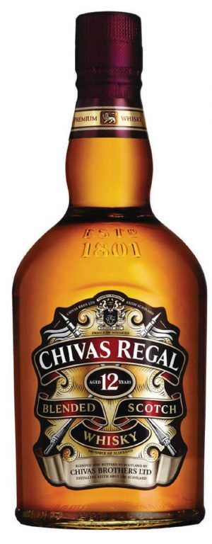 Chivas Regal 12 Year Old Scotch 70cl