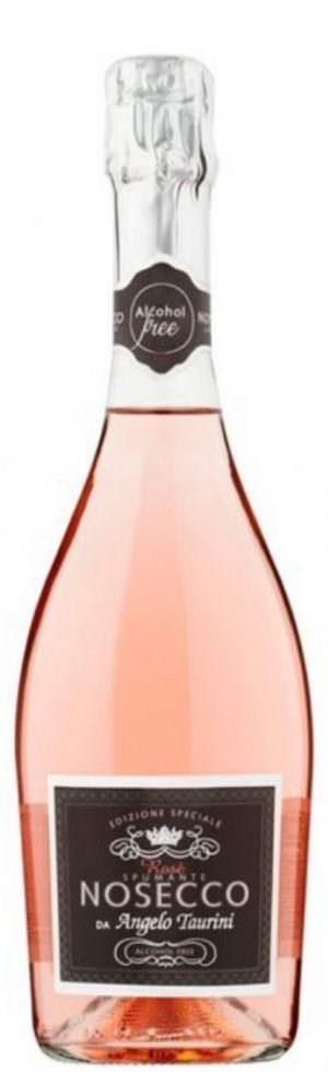 NOSECCO Rosé Spumante Alcohol Free 75cl
