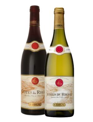 Guigal Cote du Rhone 75cl Twin Pack