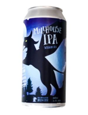 Ballykilcavan Millhouse Session IPA 3.5% 44cl Can