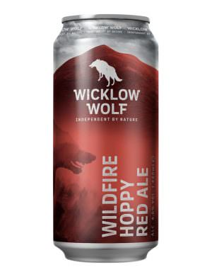 Wicklow Wolf, Wildfire Hoppy Red Ale 4.6% 44cl Can