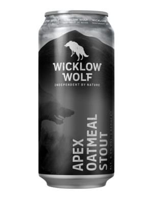 Wicklow Wolf, Apex Oatmeal Stout 6.5% 44cl Can