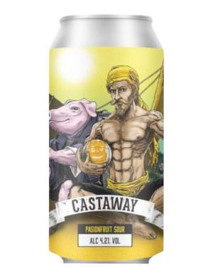 YellowBelly Castaway Passionfruit Sour 4.2% 44cl Can