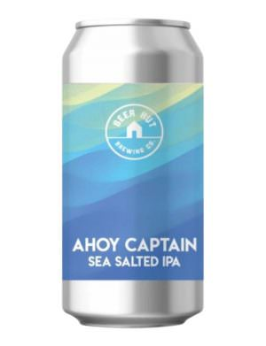 Beer Hut - Ahoy Captain - Sea Salted IPA 7.4% 44cl Can