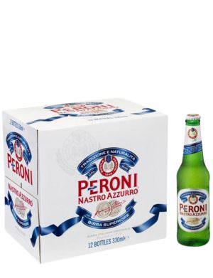 Peroni Nastro Azzuro 33cl x 12 Bottle Pack