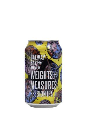 GalwayBay, Weights & Measure Session IPA 3% 33cl Can
