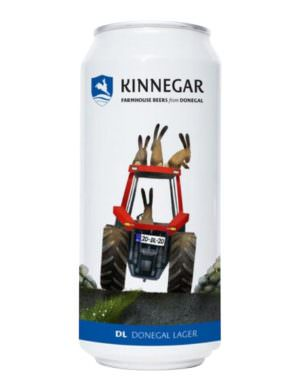Kinnegar Donegal Lager 44cl Can