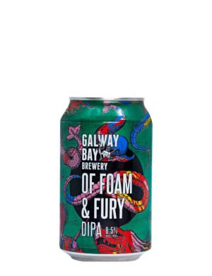 GalwayBay, Of Foam & Fury DIPA, 33cl Can