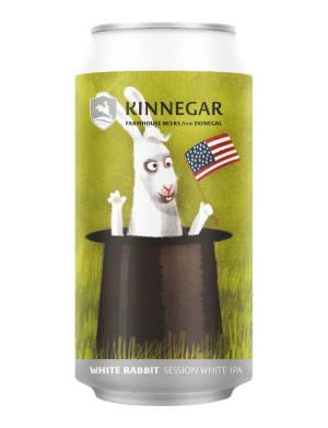 Kinnegar, White Rabbit 44cl Can
