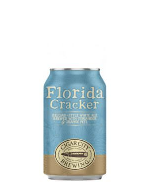 Cigar City - Florida Cracker - Belgian Style White Ale 5.5% 35.5cl can