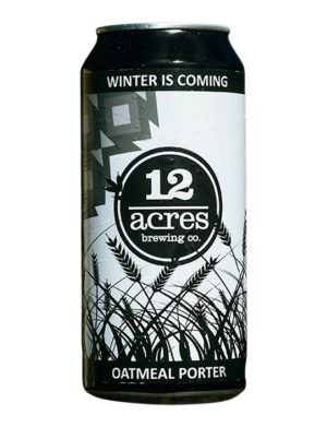 12 Acres - Winter is Coming Stout 44cl Can