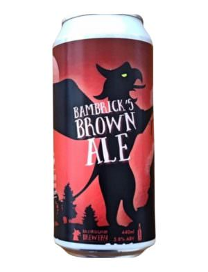Ballykilcavan Bambrick's Brown Ale 5.8% 44cl Can