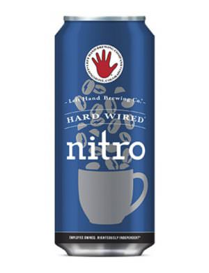 Left Hand Brewing Co.- Hardwired Nitro Porter 6% 40.4cl Can