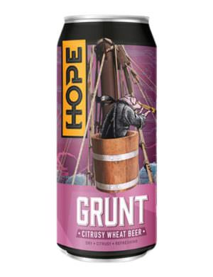 HOPE Grunt Wheat Beer 4.8% 44cl Can