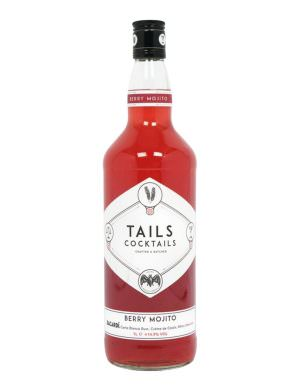 Tails Berry Bacardi Mojito 1ltr 15%