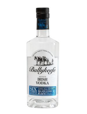 Ballykeefe Potato Irish Vodka 70cl