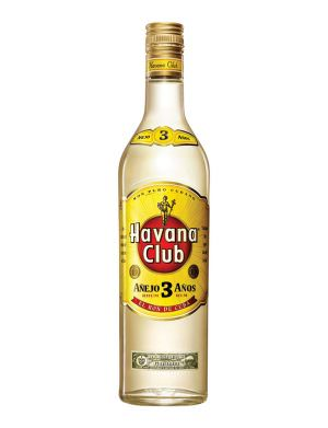 Havana Club 3 Year Old White Rum 70cl