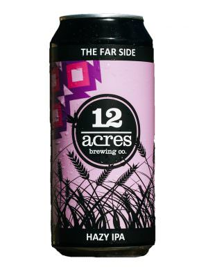 12 Acres, The Far Side, Hazy NEIPA 44cl Can
