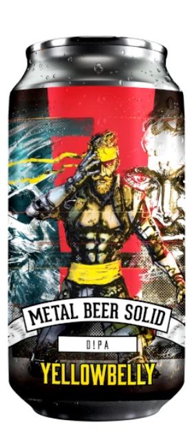 YellowBelly - LIMITED - Metal Beer Solid - DIPA 440ml 9%