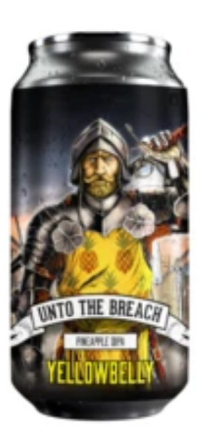 YellowBelly - LIMITED - Into The Breach - Pineapple DIPA - 440ml 7%