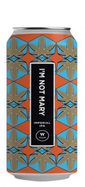 Wylam - I'm Not Mary - 10.6% Imperial IPA 440ml