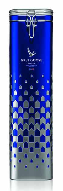 Grey Goose Vodka Tin Gift Set