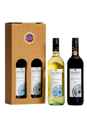 Lamura Organic Wine Twin Pack 75cl
