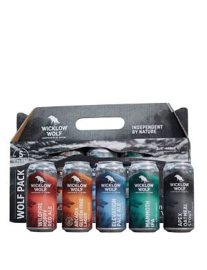 Wicklow Wolf - Wolf Pack - 5x44cl Can Collection