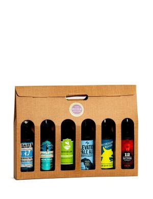 6 Bottle Irish Craft Beer Seletion Gift Box (Beers May vary depending on stock)