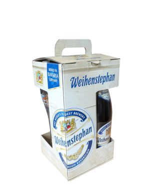 Weihenstephaner Gift Pack - 3 Beers & Glass