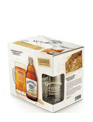Grevensteiner Gift Pack - 5Btl & Glass