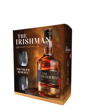 Irishman Founder's Reserve Glass Pack Gift Set