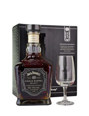 Jack Daniel's Single Barrel 70cl + Glass Gift Pack