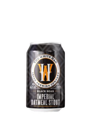 White Hag, Black Boar Imperial Oatmeal Stout 10.2% 33cl Can