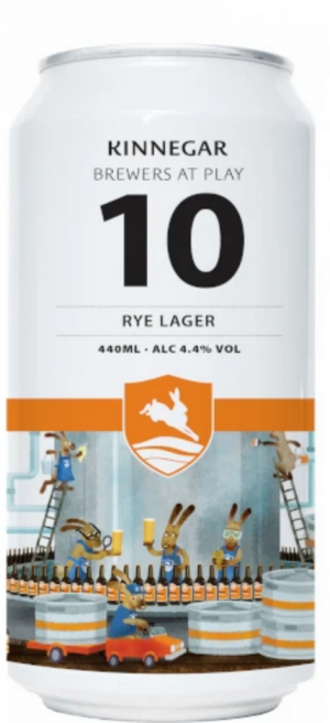 Kinnegar - Brewers At Play No.10 - Rye Lager