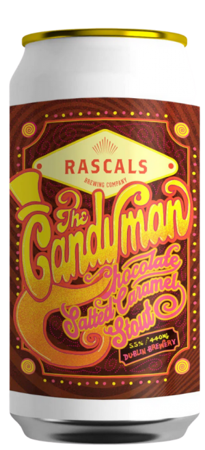 Rascals - The Candyman - Salted caramel Stout