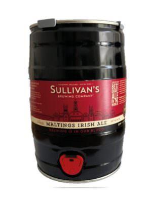 Sullivan's Maltings Red Ale 5ltr Mini Keg