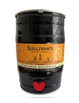 Sullivan's Irish Gold 5 ltr Mini Keg