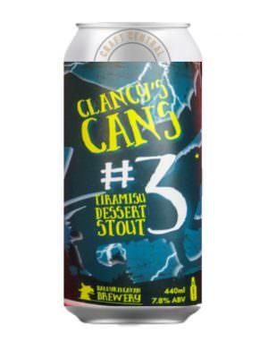 Ballykilcavan - Clancy'3 #3 Tiramisu Dessert Stout 44cl Can