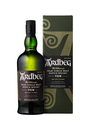 Ardbeg 10 Year Old Scotch 70cl