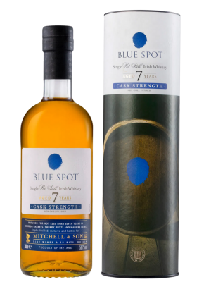 Blue Spot, 7yr Single Pot Still, Cask Strenght