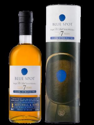 Blue Spot, 7yr Single Pot Still, Cask Strenght
