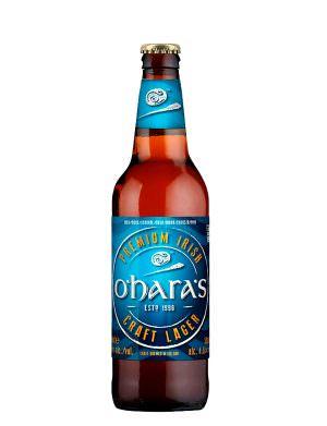 O'Hara's Irish Lager 50cl Bottle